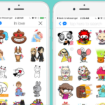 Likes, stickers y GIFs en Messenger